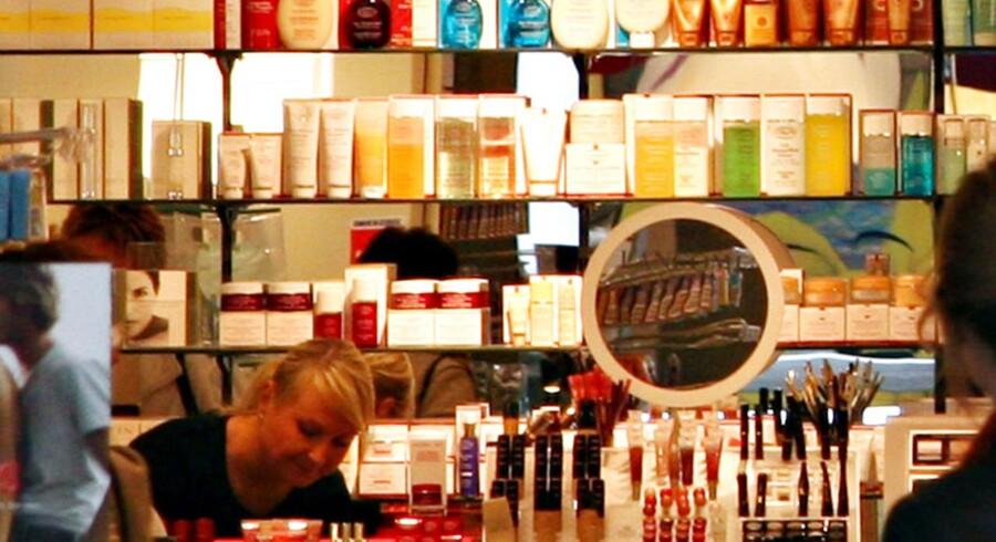 Det i forvejen tætpakkede marked for kosmetik får endnu en spiller i form af netsiden Boozt.com. Matas mener dog stadig, at der er et marked for fysiske butikker. Arkivfoto: Brian Bergmann/Scanpix 2013