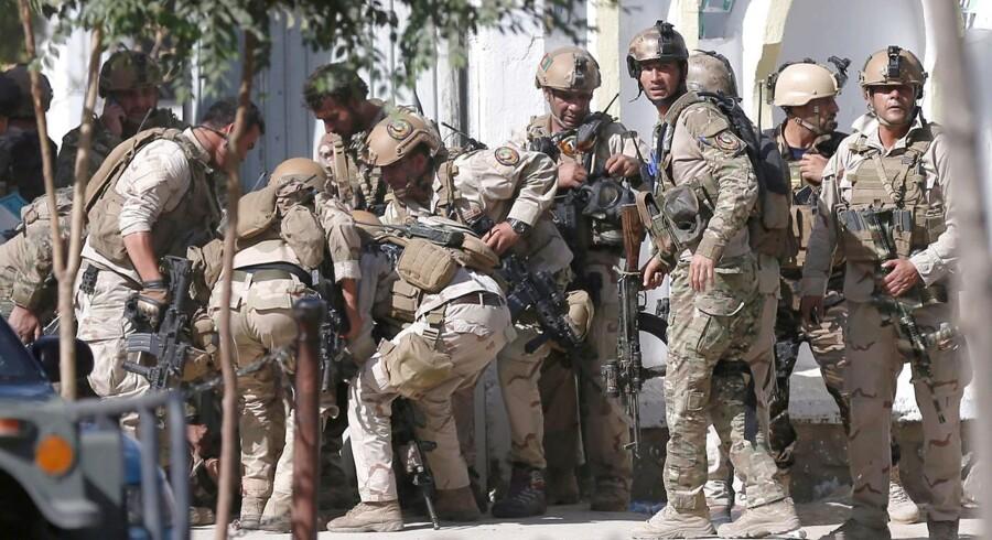 Arkivfoto. Der er foreløbigt ingen meldinger om tilskadekomne efter eksplosion i den afghanske hovedstad tirsdag.