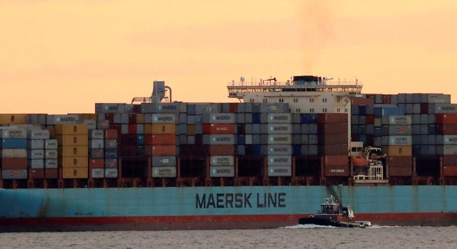 Arkivfoto: Maersk Line.