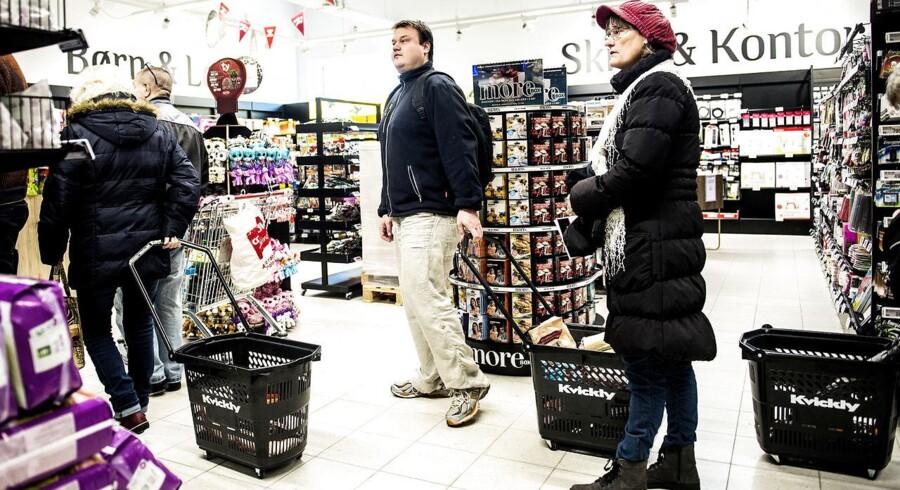 Discountkæderne vinder frem på bekostning af de store dagligvarekæder.