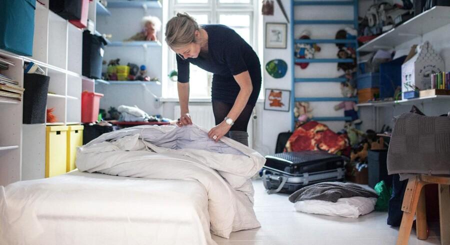 Mette Lund Hartvig lejer et af sine ektra værelser ud via AirBnB. (Arkivfoto: David Leth Williams)