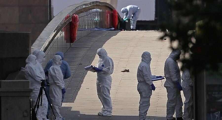London blev ramt af angreb lørdag. Scanpix/Daniel Leal-olivas