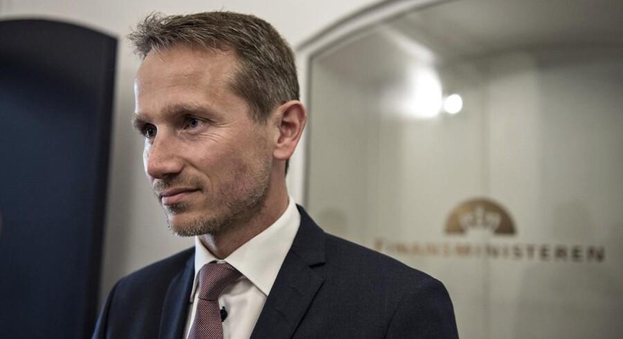 Arkivfoto: Finansminister, Kristian Jensen.