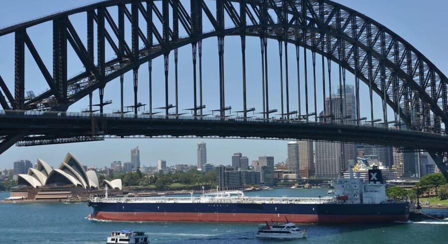 En lang række internationale virksomheder betaler overhovedet ingen skat i Australien, viser netop offentliggjorte skattelister. Arkivfoto: Peter Parks, AFP/Scanpix