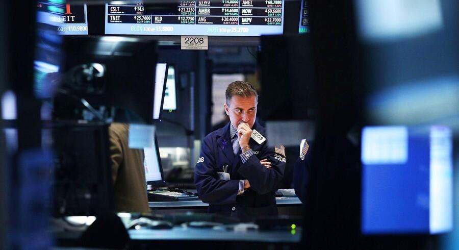 Amerikansk kontorarbejder - her i New York.