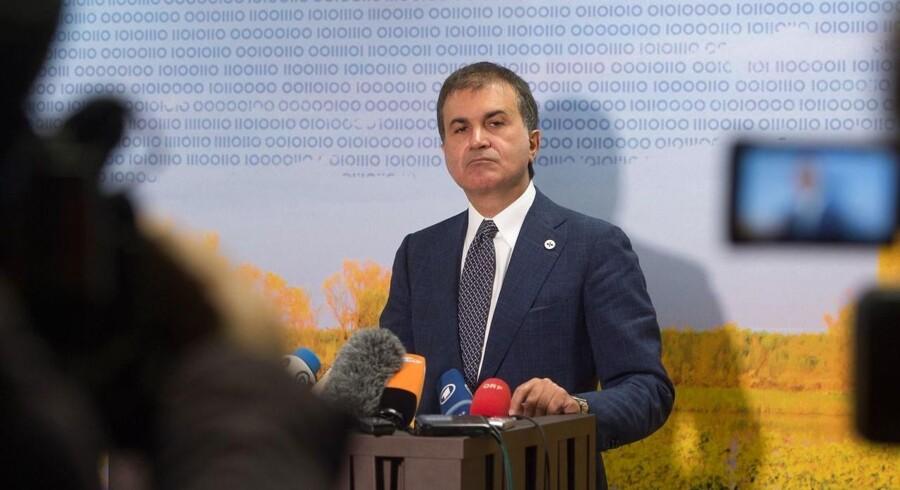 Tyrkiet: Vi har ikke opgivet at blive medlem af EU / AFP PHOTO / RAIGO PAJULA