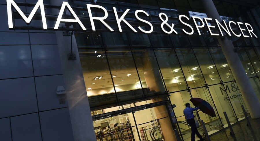 Marks & Spencer i London. Arkivfoto.