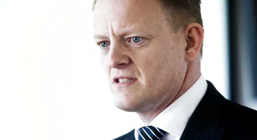 Lundbecks vikarierende topchef, Anders Götzsche, har været på opkøb.