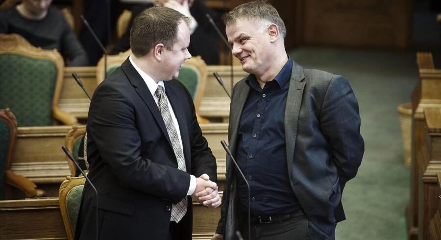Dansk Folkepartis indfødsretsordfører Christian Langballe efterlyser handling. »Man kan jo ikke blive ved med at lukke øjnene for, at det er islam, der er problemet,« siger han. (Foto: Niels Ahlmann Olesen/Scanpix 2016)