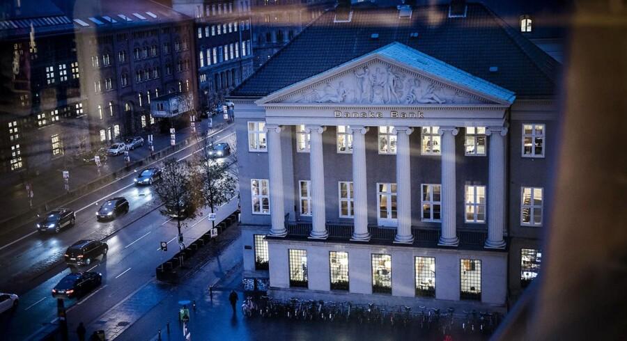 Danske Banks regnskab for fjerde kvartal får rosende ord med på vejen af aktieanalytiker Mikkel Emil Jensen fra Sydbank. Arkivfoto.
