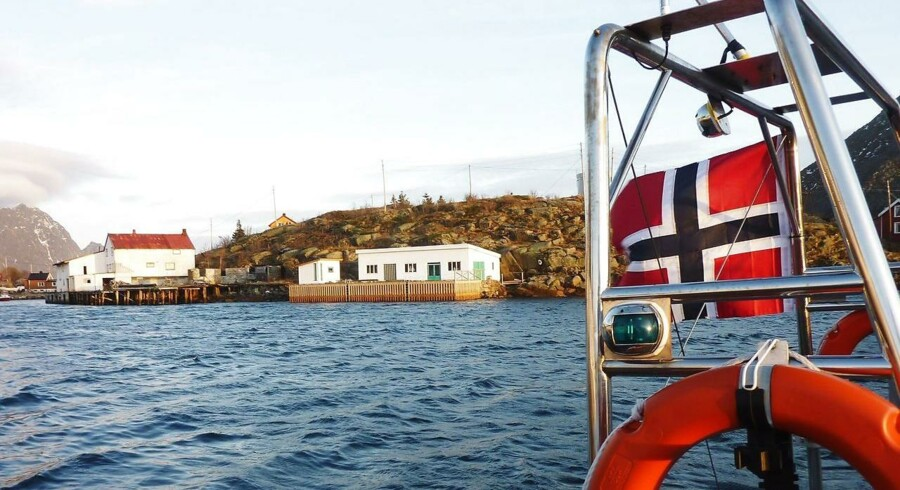 Norge er ved at forberede sig på, at olie- og gaseventyret snart kan slutte - og så er havene det naturlige satsningsområde. Arkivfoto: Nina Larson, AFP/Scanpix