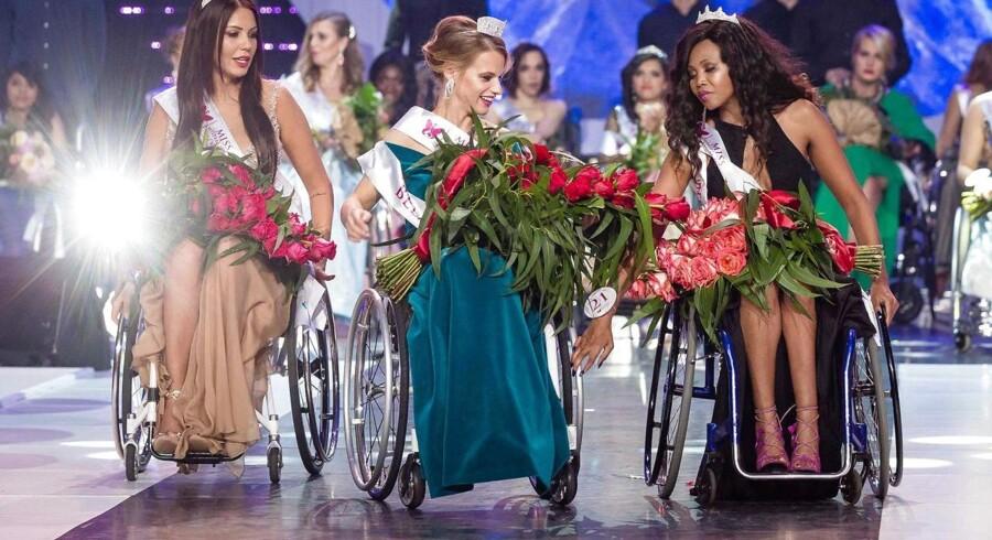 Aleksandra Chichikova fra Hviderusland vandt verdens første Miss Wheelchair World.