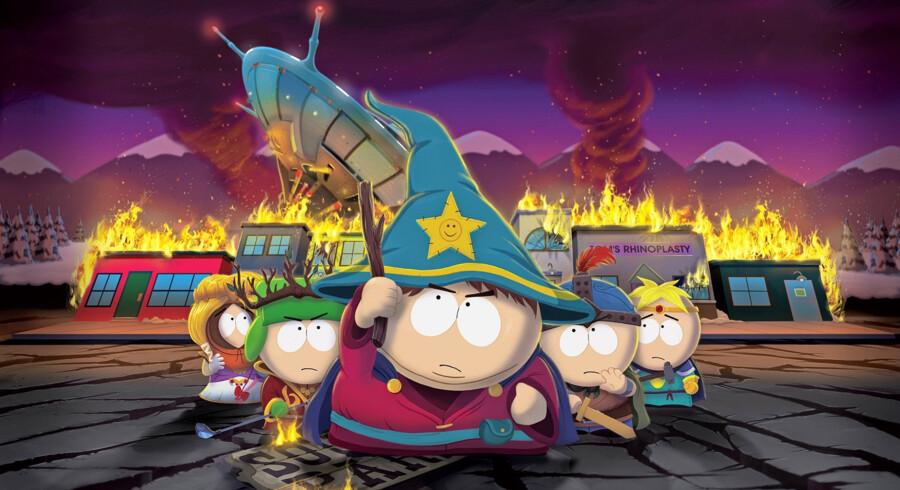 Skoleeleven Eric Cartman vinder overraskende over Hillary Clinton i det amerikanske valg og er dermed USAs næste præsident.