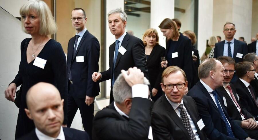 Finansrådet afholder årsmøde på Statens Museum for Kunst mandag d. 7. december 2015. (Foto: Mathias Løvgreen Bojesen/Scanpix 2015)