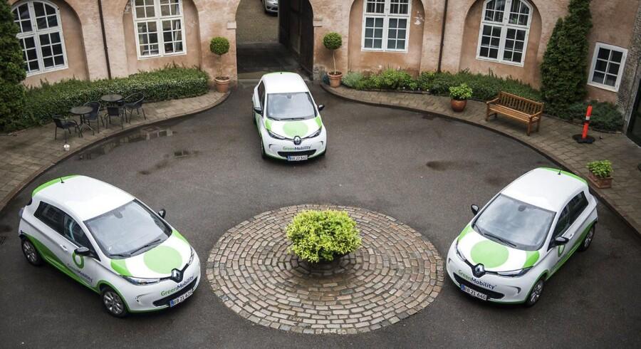 Den danske og børsnoterede delebilsvirksomhed GreenMobility opjusterer forventningen til regnskabsåret 2017