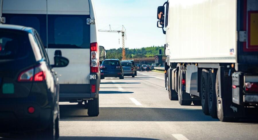 ARKIVFOTO: Fredag eftermiddag har en dansk familie været involveret i en trafikulykke i Schwarzenfeld.