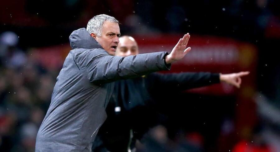 Manchester United-manager José Mourinho.