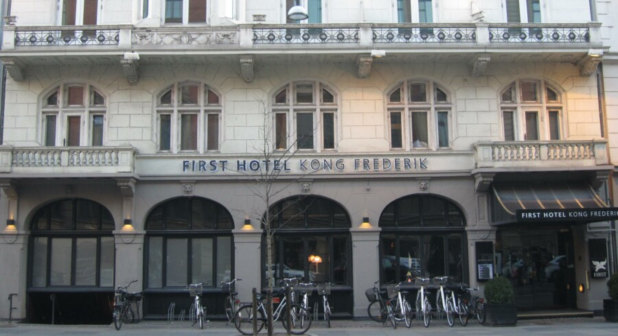First Hotel Kong Frederik.