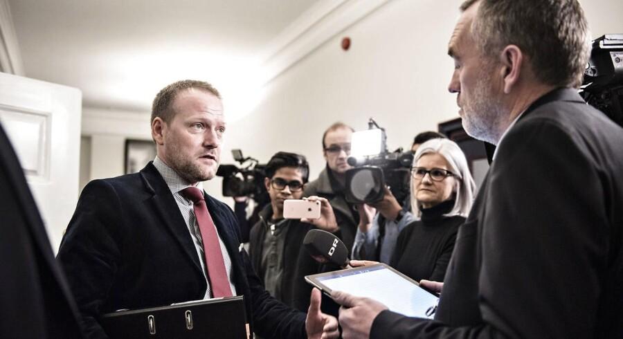 Arkivfoto. Det nye konvergensprogram viser ikke behov for arbejdsudbudsreformer, som regeringen siger, mener DF og S.