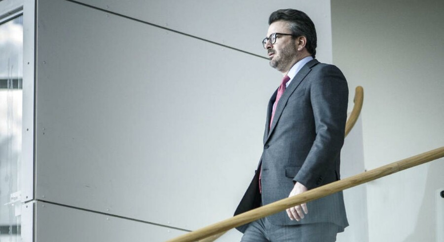 Novo Fondens nye direktør, Kasim Kutay
