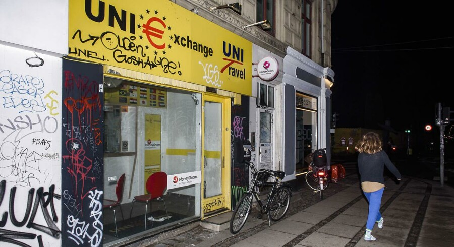 Uniexchange på Nørrebrogade i København.