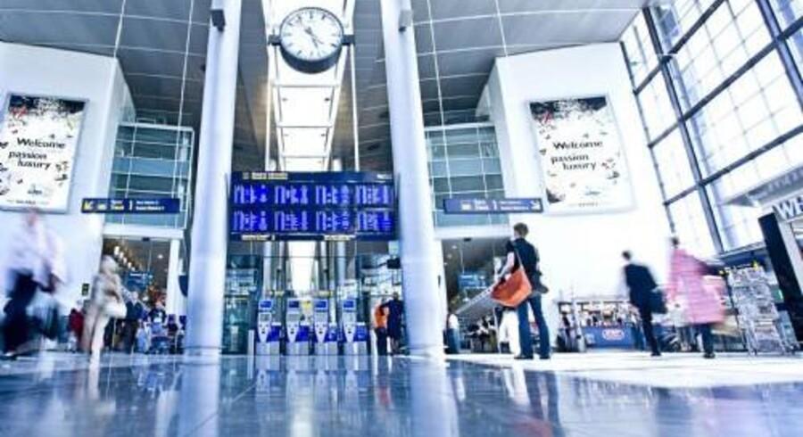 Med ATP's opkøb i Københavns Lufthavn er lufthavnen delvist kommet på danske pensionsopspareres hænder. Free/Ernst Tobisch Cph/arkiv