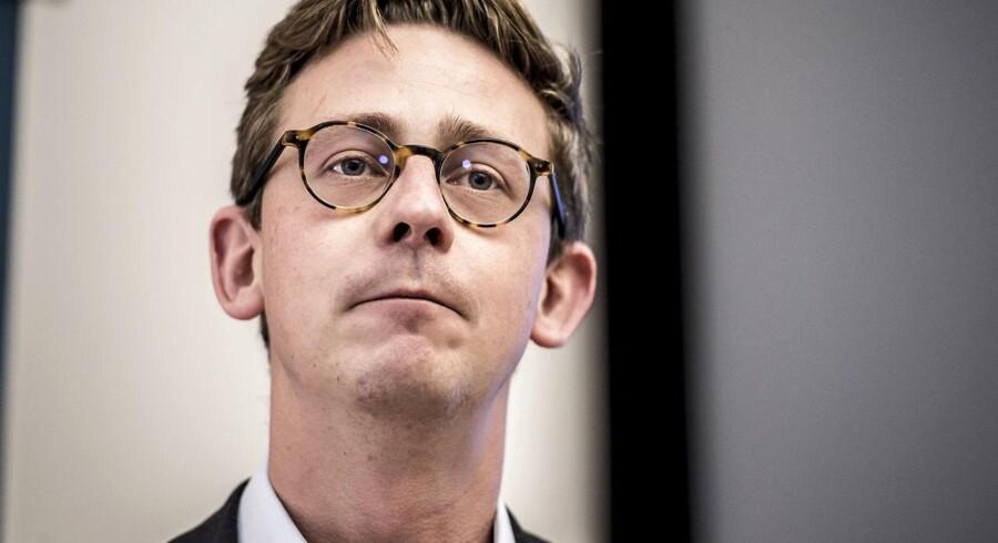 Skatteminister Karsten Lauritzen (V)