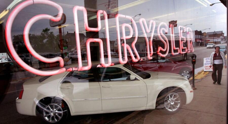 Den italiensk-amerikanske bilkoncernen Fiat Chrysler vil investere én milliard dollar i USA og dermed skabe 2000 nye arbejdspladser. Arkivfoto.