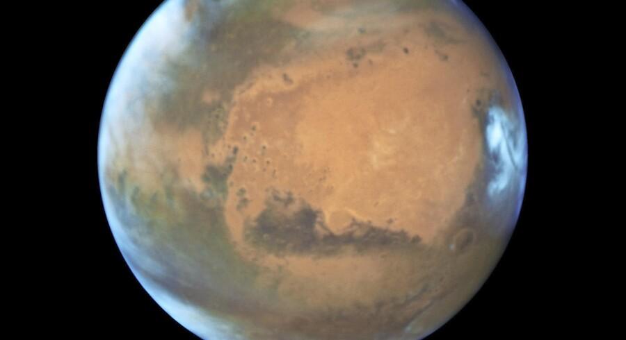 Mars – fotograferet før genopdagelsen. Foto: NASA/Scanpix