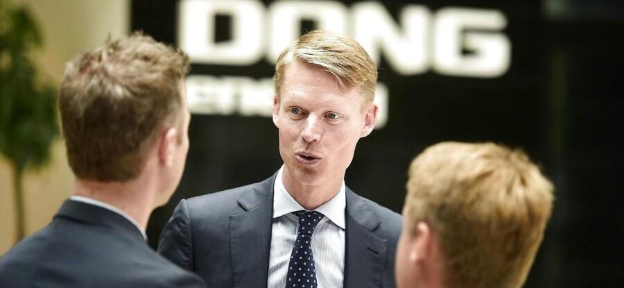 DONGs topchef Henrik Poulsen