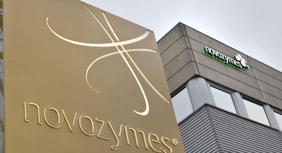 Novozymes havde markant modvind fra valuta i første kvartal. Scanpix/Torben Christensen