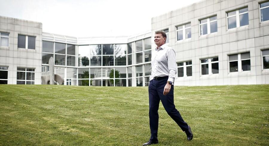Chr. Hansens topchef Cees de Jong.