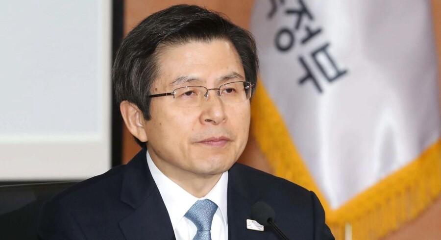 Sydkoreas præsident Park Geun-hye, fotograferet den 27. februar.