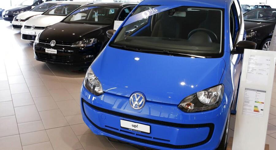 Volkswagen har gjort det muligt at købe deres populære Up!-model på nettet.