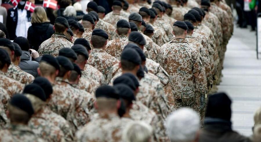 ARKIVFOTO .Ifølge flere professorer kan posttraumatisk stress (PTSD) være undervejs i årevis, efter at en person har været udsendt i krig.