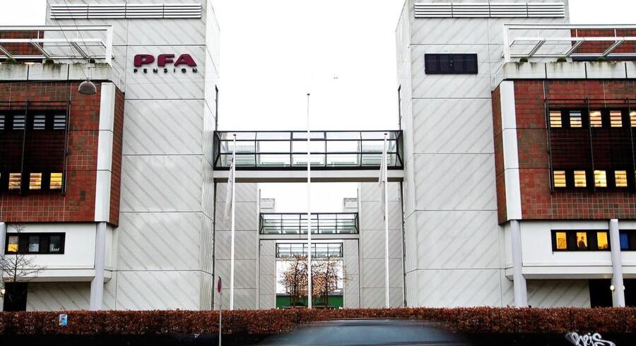 Arkivfoto: PFA bygningen Marina Park Sundkrogsgade 4 2100 København Ø. Foto: