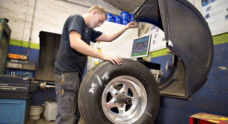Næsten en fjerdedel af Dansk Metals tillidsrepræsentanter arbejder på virksomheder, der tager slet ikke tager lærlinge.