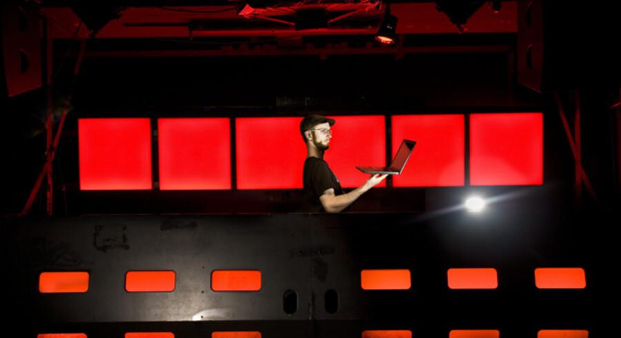 Koncert på Culture Box med musikeren Mikkel Metal.