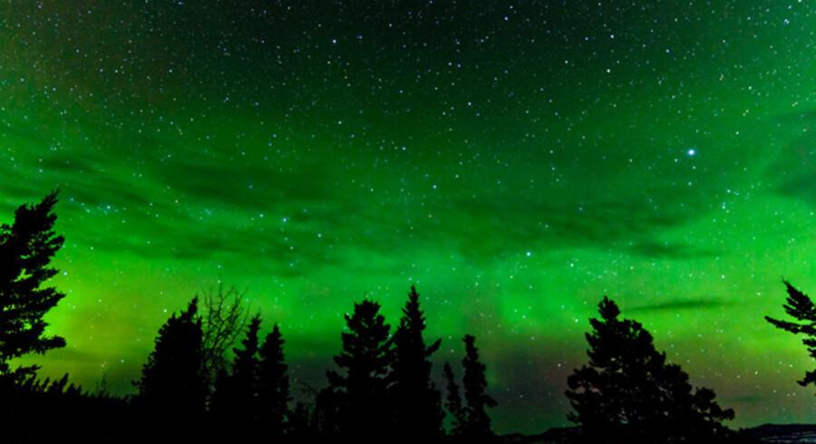 Nordjyderne har chancen for at se Nordlys torsdag eller fredag nat.