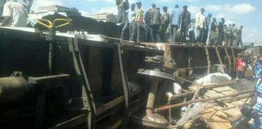Billede fra Røde Kors i Kenya via Twitter.