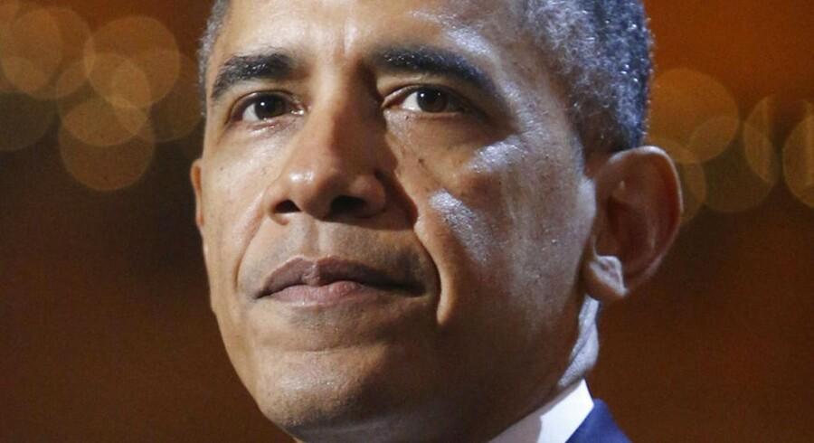Barack Obama kan gå på juleferie med styr på statsbudgetterne.