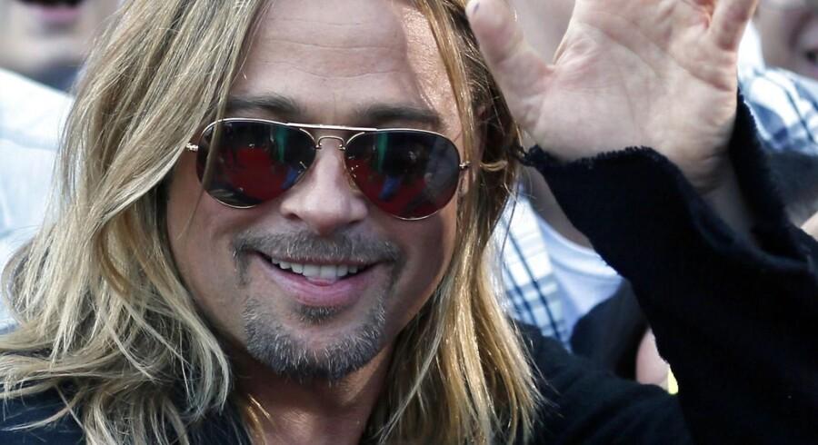 Brad Pitt har tilsyneladende ganske ubesværet udbygget sit ry som en af verdens mest attraktive mænd.