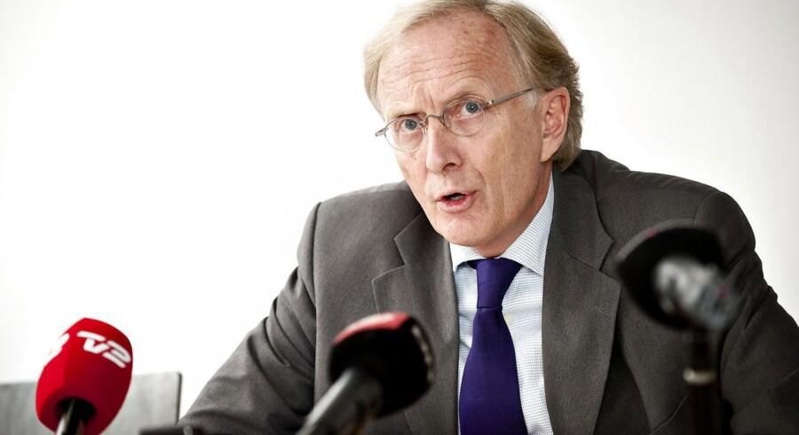 Advokat Christian Harlang angriber forsvarsministeren. Foto: Torkil Adsersen