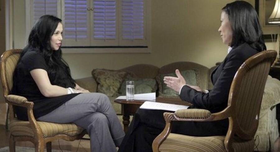 Ottelinge-mor Nadya Suleman lod sig fornylig interviewe.