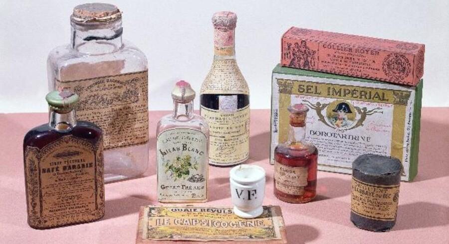 Det er ikke et nymodens påfund at sælge hudpleje og andre forskønnende produkter på franske apoteker, men en hundrede år gammel tradition.