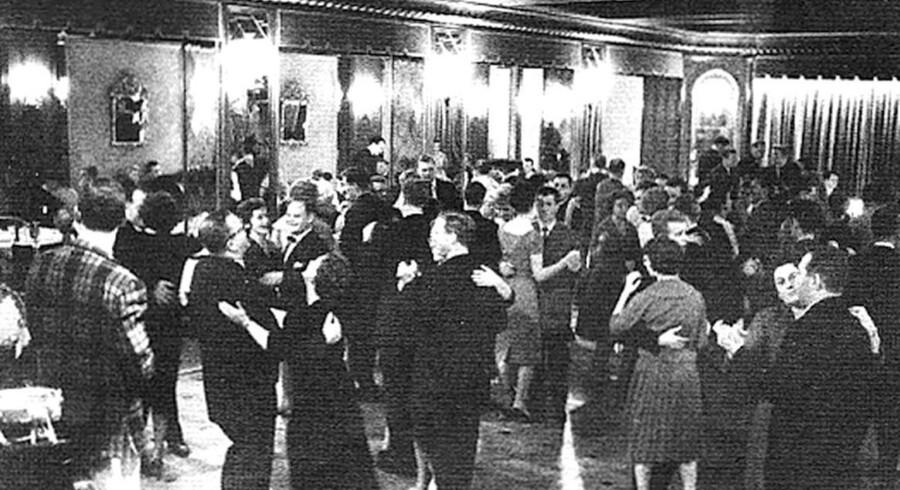 Pænt ser det ud, og pænt var det, når der i 1950erne blev spillet op til dans i natklubben Adlon.