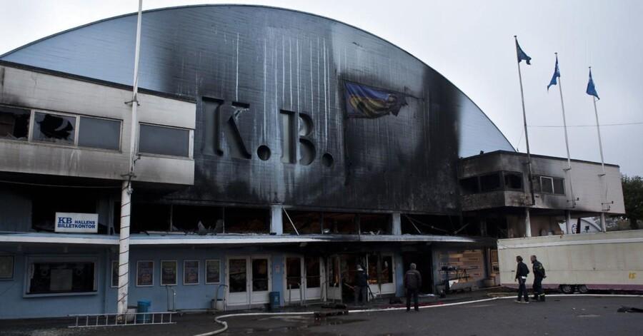 Torsdag den 29. september 2011 var dagen derpå efter KB-Hallen brændte ned.