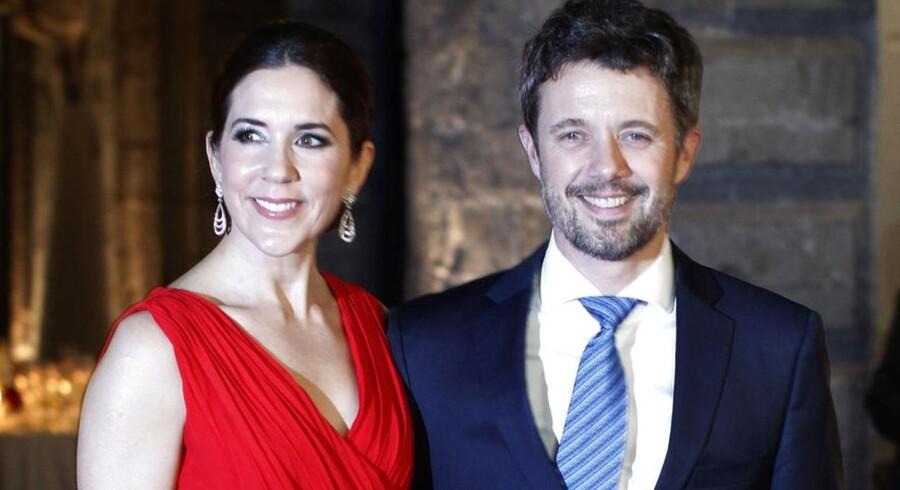 I forbindelse med deres officielle besøg i Mexico, havde kronprinsparret i går aftes inviteret til gallamiddag i Mexico City.