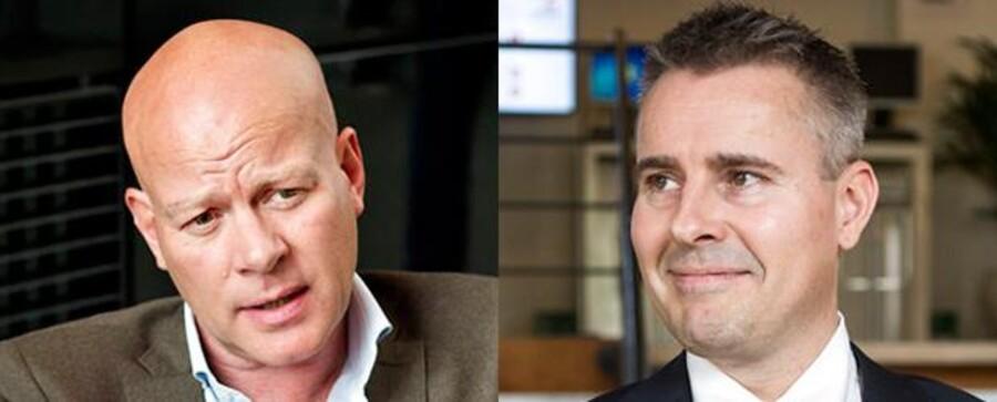 Thomas Blachman og Henrik Sass Larsen.