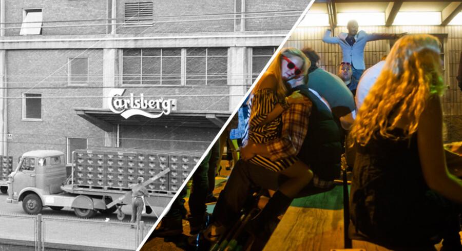 Nu er det fem år siden, at den sidste øl blev brygget på Carlsbergs bryggeri i Valby. Men selv om bygningernes oprindelige funktion er ophørt, summer der stadig af liv omkring de velkendte elefanter.